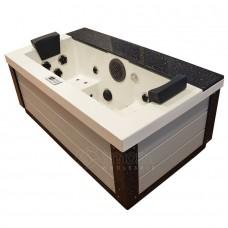 SPA sūkurinė vonia AMOG-1542 dvivietė, 200x111 cm.