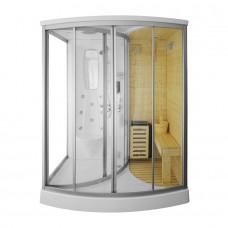 Sauna su hidromasažine dušo kabina AMO-1706 165x1105