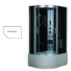 Masažinė dušo kabina AMO-09912 120x85 Kairė