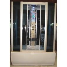 Garinė dušo kabina Euroliux K8711T, su masažine vonia