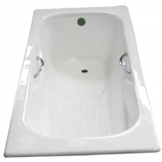 Ketaus vonia Euroliux 20010 150x75x42 , su kojomis ir rankenomis