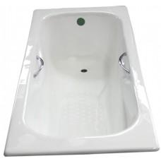 Ketaus vonia Euroliux 20010 170x75 , su kojomis ir rankenomis