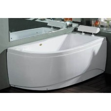 Akrilinė vonia B1680 dešininė 150x80cm
