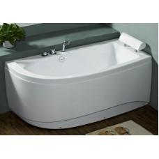 Akrilinė vonia B1680 dešininė be masažų (simple) 160cm