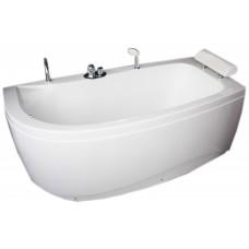 Akrilinė vonia B1680 dešininė empty 160x80cm su priedais