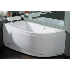 Akrilinė vonia B1680 kairinė 160x80