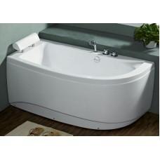 Akrilinė vonia B1680 kairinė be masažų (simple) 160cm