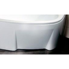 ASYMMETRIC vonios panelė 150 L balta su tvirtinimu