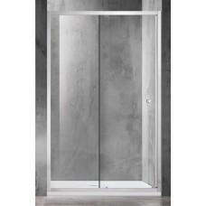 Dušo durys O6121 130x90 skaidrios