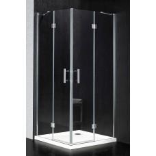 Dušo kabina BEC14 skaidri be pado (tik stiklai)