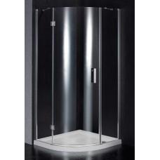 Dušo kabina BEF90 skaidri be pado (tik stiklai)