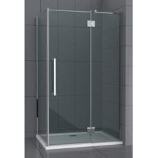 Dušo kabina C12090HY grey be pado (tik stiklai) 120x90
