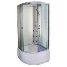 Dušo kabina R8601 100x100 fabric/white