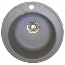Granitinė plautuvė ROUND 1 light grey