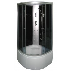Masažinė dušo kabina KM888 grey 100x100