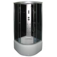Masažinė dušo kabina KM888 grey 90x90