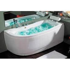 Masažinė vonia B1680 dešininė su oro ir hidromasažu 170x90