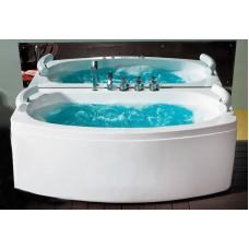 Masažinė vonia B1790-1 su hidromasažu 160cm