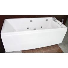 Masažinė vonia B310 kairinė su vandens ir oro masažu