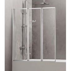 Sienelė vonios C6433 90x150 skaidri