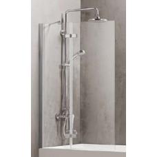 Sienelė vonios D6221 80x150 skaidri