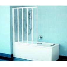 Vonios sienelė VS5 baltas+plastikas