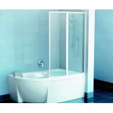 Vonios sienelė VSK2 ROSA 150R (dešininė) stiklas Transparent