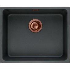 Akmens masės plautuvė Franke Copper Edition, KBG 110-50 Onyx