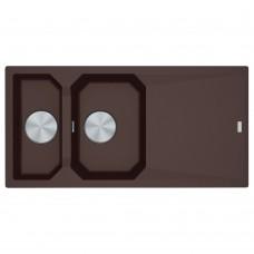 Akmens masės plautuvė Franke FX FXG 661, Chocolate