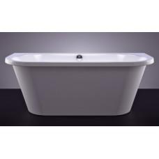 Akmens masės vonia VISPOOL ONDA 175x76 balta