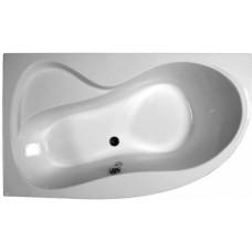 Akrilinė asimetriška vonia Ravak Rosa 95, 150x95, kairinė