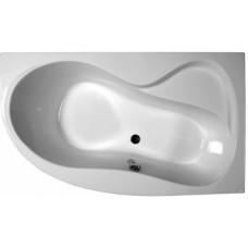 Akrilinė asimetriška vonia Ravak Rosa 95, 160x95, dešininė