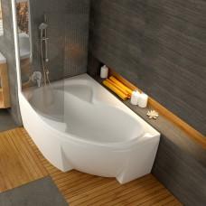 Akrilinė asimetriška vonia Ravak Rosa II, 150x105 cm, kairinė