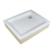 Akrilinis dušo padėklas Ravak Aneta, 75x90 EX baltas
