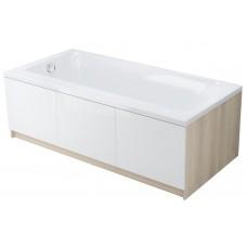 Akrilo vonia Cersanit Smart, 170x80 cm dešininė