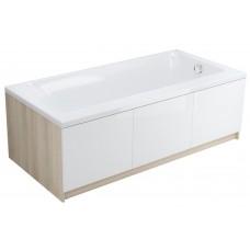 Akrilo vonia Cersanit Smart, 170x80 cm kairinė