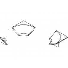 Apdailos juostelės Ravak kampeliai, tipas 6 (komplektas)