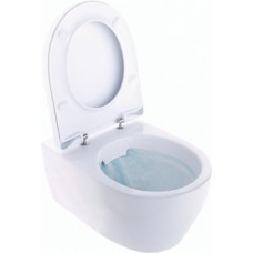Pakabinamas WC IFO, iCON Rimfree su soft-close dangčiu