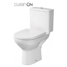 Pastatomas WC Cersanit, City Clean-On su lėtai nusileidžiančiu dangčiu