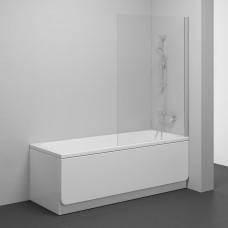 Stacionari vonios sienelė Ravak Pivot, PVS1 80 satinas+stiklas Transparent