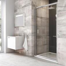 Stumdomos dušo durys Ravak Blix, BLDP2-100, blizgi+stiklas Transparent