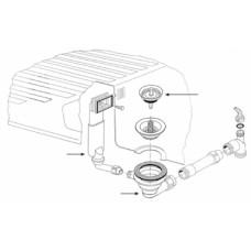Ventilis FRANKE plautuvės MOX 610-575, MOX 611, EFX 611, EFX 610, d 3''1/2, užkemšamas