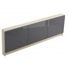 Vonios apdaila Cersanit Smart, priekinė, 170 cm pilkas fasadas