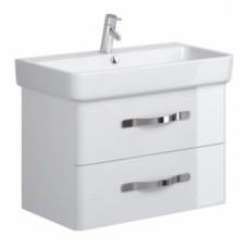 Vonios kambario spintelė Opoczno, Urban Harmony, praustuvui, 80 cm, balta