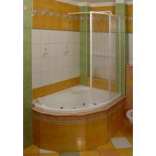Vonios sienelė VSK2 ROSA 150R POLYESTER RAIN