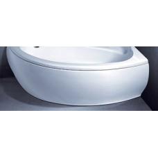 Vonios Vispool Piccola apdaila, dešinės pusės balta