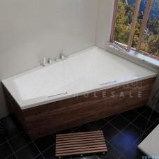 Akrilinė vonia RIHO DOPPIO 180x130