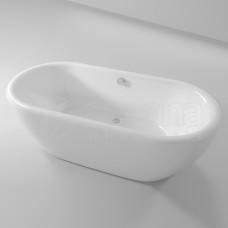 Akrilinė vonia RIHO DUA 180x86