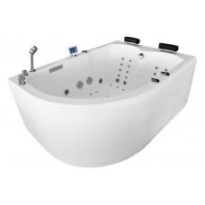 Masažinė vonia MAZUR MUE-004A 170x120cm dvivietė