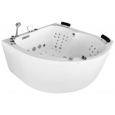 Masažinė vonia MAZUR MUE-0031A  140x140cm dvivietė